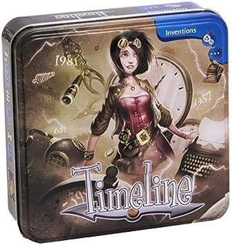 Asmodée Games - Timeland, Juego Educativo (ASMPJHA03) (versión en inglés): Amazon.es: Juguetes y juegos