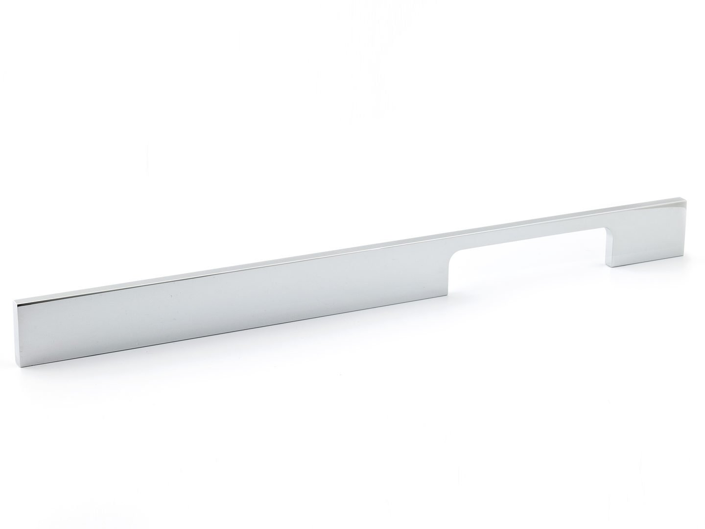 Richelieu Hardware - BP720320140 - Contemporary Metal and Aluminum Pull - 720 - 12 5/8 in (320 mm) - Chrome  Finish