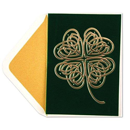 St Patricks Day Card Celtic Shamrock by (Celtic Card)