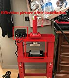 "3x5"" Rosin Press 6061 Aluminum Plates Kit with"
