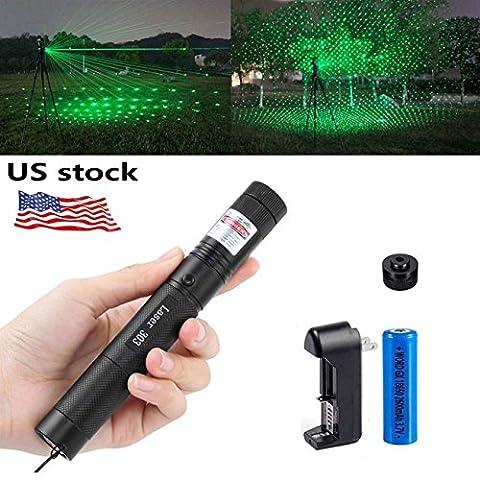 WORD GX Green Hunting Scope Rifle Laser (Laser Pointer Green Focus)