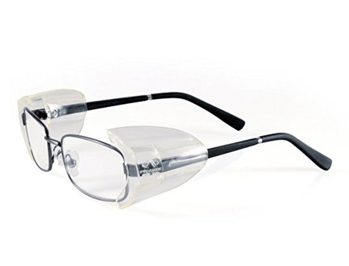 dbeb069c97 VIEEL Slip On Clear Side Shields for Safety Glasses