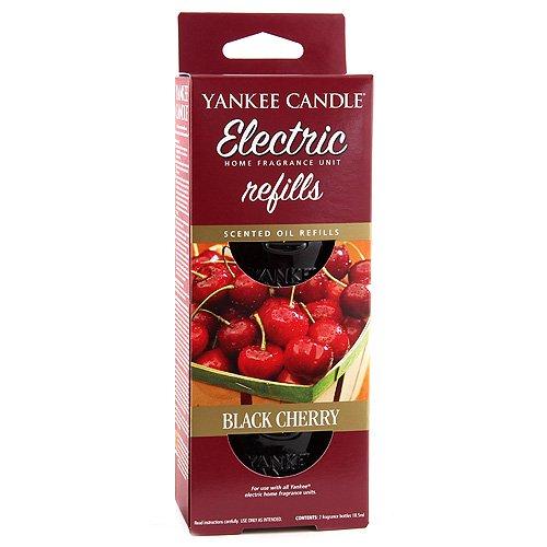 Yankee Candle - Ricarica per diffusore Elettrico, fragranza Black Cherry (Ciliegia Nera) 1240429E