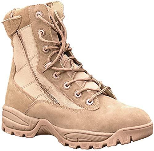 Boots Two à fermeture Éclair, noir 1