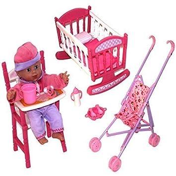 En Pour Doll 1 Semblant Faire Rose Baby Filles Enfants 3 lc1KTFJ