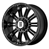 XD Series by KMC Wheels XD795 Hoss Gloss Black Wheel With Clearcoat (20x9