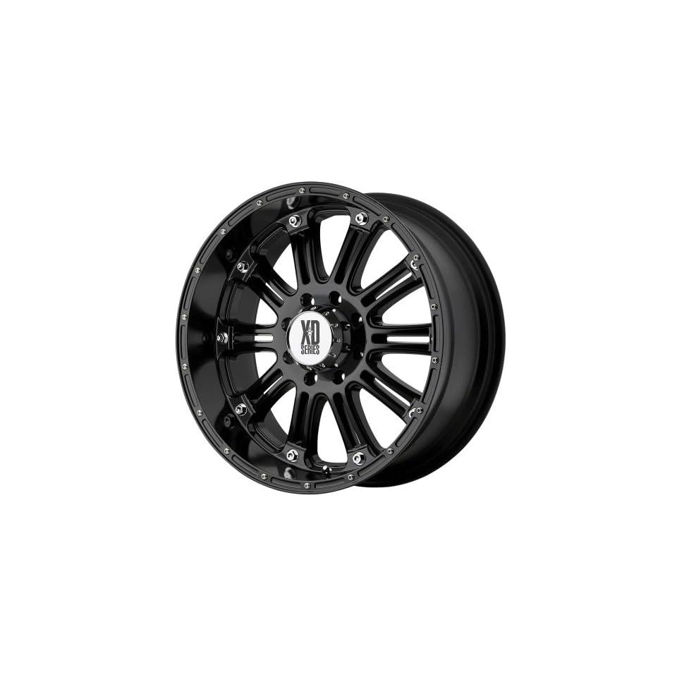 XD Series Hoss XD795 Gloss Black Wheel (16x8/8x6.5)