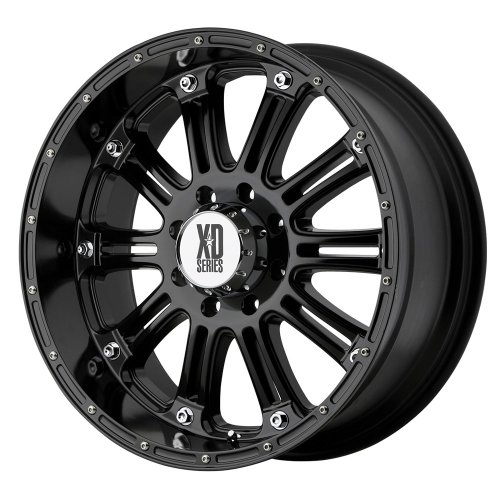 XD Series by KMC Wheels XD795 Hoss Gloss Black Wheel With Clearcoat (18x9