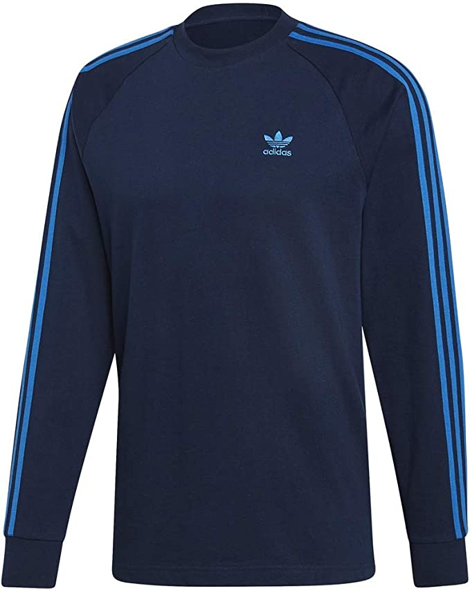 adidas navy long sleeve shirt Shop Clothing & Shoes Online