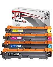 PerfectPrint - Compatible TN241 TN245 cartuchos de tóner láser para Brother DCP-9020CDW HL-3140CW HL-3150CDW HL-3170CDW MFC-9140CDN MFC-9330CDW MFC-9340CDW