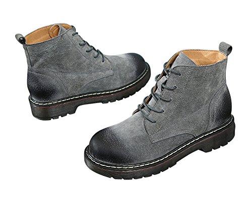 1bacha Tortor Chukka Shoes Teenager Unisex Boot Gray High Top Leather Adult dqa6qw