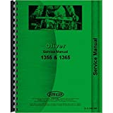 New Tractor Service Manual Made To Fit Cockshutt / Oliver 1355 1365