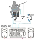 Yamaha STAGEPAS 400BT Portable PA System with