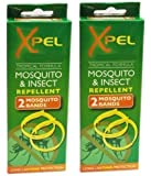 Xpel Mosquito & Insect Repellent Wrist Bands (2 Packs) 2 Per Pack =4 Bands