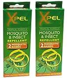 Xpel - Répulsif Moustiques & Insecte Bandes Poignet (Lot De 2) 2 Par Lot =4 Bandes