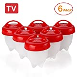 microwave cooker as seen on tv - Egglettes Egg Cooker - Hard Boiled Eggs without the Shell, Eggies AS SEEN ON TV,6 Pack