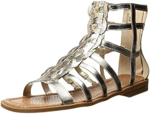 Nine West Women's Xeron Metallic Gladiator Sandal