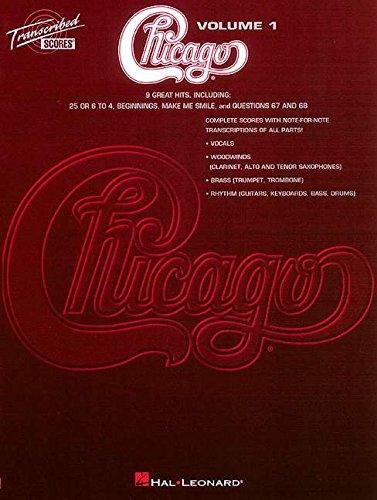 Bass Pop Trumpet - Chicago - Transcribed Scores Volume 1