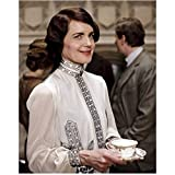 Downton Abbey Elizabeth McGovern as Cora Crawley, Countess of Grantham Beautiful Holding Cup 8 x 10 Inch Photo