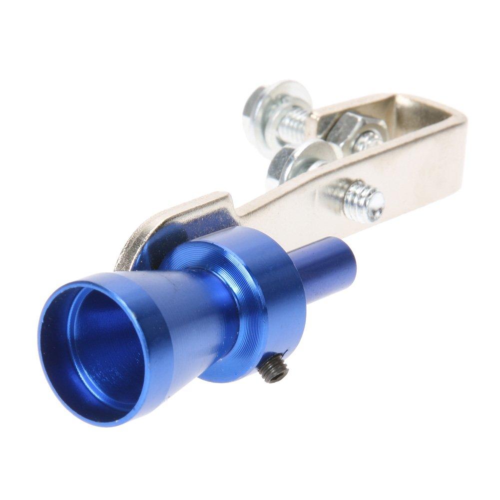 AMAZINGDEAL365/taglia S in lega di alluminio auto Turbo audio fischietto silenziatore tubo di scarico