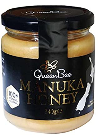 Queen Bee Manuka Honig 12+ 340g: Amazon.de: Lebensmittel & Getränke