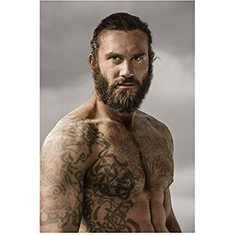 Vikings Clive Standen as Rollo...