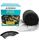 AlpineReach 28 x 30 Feet Koi Pond Netting Kit