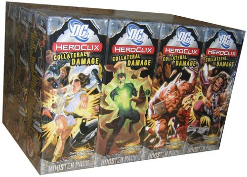 Heroclix - DC Collateral Damage Booster Pack Brick - 12bx4f
