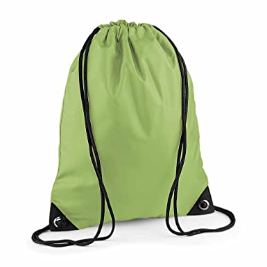BAG BASE - sac à dos à bretelles - gym - linge sale - chaussures - BG10 - vert  kiwi  Amazon.fr  Vêtements et accessoires 8d52445c438