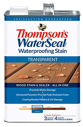(THOMPSONS WATERSEAL TH.041841-16 Transparent Waterproofing Stain Acorn Brown)