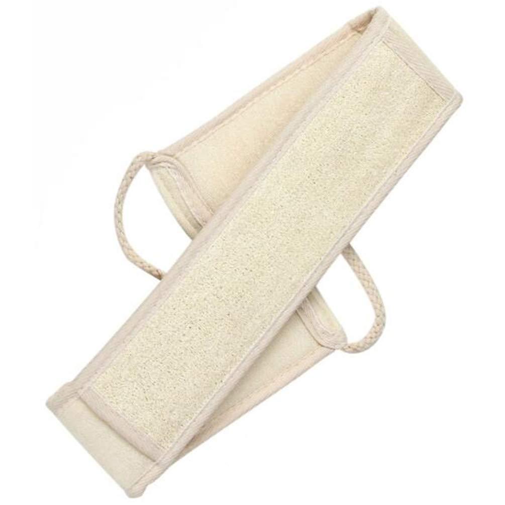 2 Pack Exfoliating Long Loofah Sponge Back Scrubber for Shower, Luffa Back Sponge for Women and Men