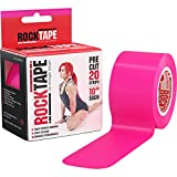 RockTape Kinesiology Tape for Athletes, Water Resistant, Reduce Pain and Injury Recovery
