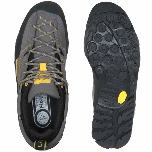 La Sportiva Herren Zustiegsschuhe grey-yellow