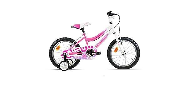 BICICLETA INFANTIL JL-WENTI 16 PULGADAS ROSA GIRL MAGIC: Amazon.es: Deportes y aire libre