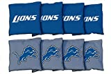 Victory Tailgate 8 Detroit Lions NFL Football Regulation Corn Filled Cornhole Bags