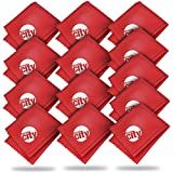 (13 Pack) Circuit City Premium Microfiber Cleaning Cloths for Tablets, Cell Phones, Laptops, LCD TV Screens, Lenses, and More (Red)