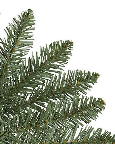 Balsam Hill Berkshire Mountain Fir Prelit Artificial Christmas Wreath, 48 Inches, Clear Lights by Balsam Hill (Image #1)