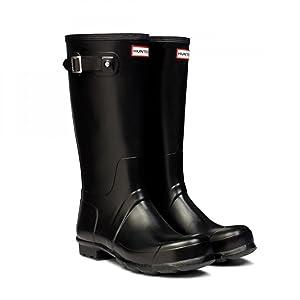 Hunter Original Tall Black Womens Boots Size 7 UK