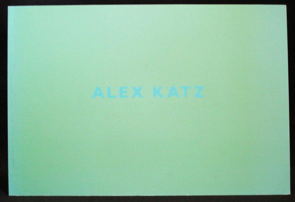 Alex Katz Bruce Hainley KATZ product image