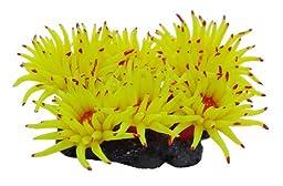 Vitality SH220L Faux Coral Aquarium Decorating Ornament, Yellow