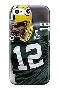 New Arrival Case Cover With MoIyQKx4037toxxL Design For Apple Iphone 4/4S Case Cover - Aaron Rogers Pictures