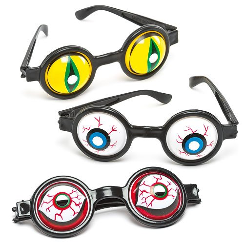 Spooky Eye Glasses for Children to Create and Hang (Pack of 5)