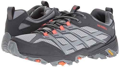 Pictures of Merrell Men's Moab Fst Hiking Shoe J37611 Grey/Orange 4