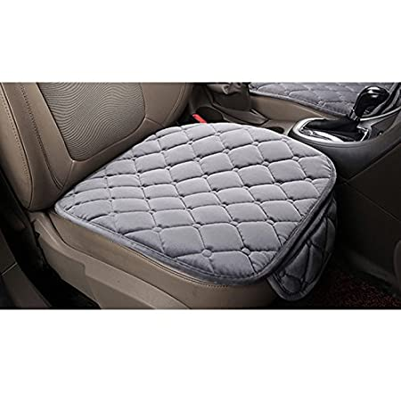 HCMAX Soft Car seat Cover Cushion Pad Mat Protector for Auto Supplies for Sedan Hatchback SUV 2+1 Front Seat Covers /& Rear Seat Covers