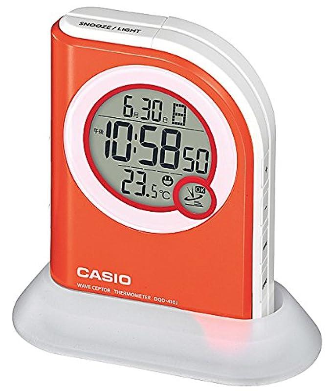 카시오 LED 손전등기능 디지털 시계 DQD-410J