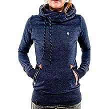 YACUN Women's Coats Jackets Casual Sweater Fleece Hoodie