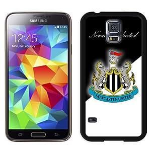 Unique DIY Designed Case For Samsung Samsung Galaxy S5 I9600 G900a G900v G900p G900t G900w With Soccer Club New Castle United 18 Football Logo Cell Phone Case