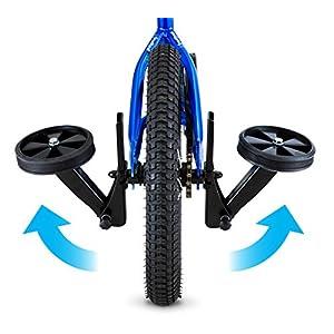 "Schwinn Retractable Training Wheels, 12""-20"""