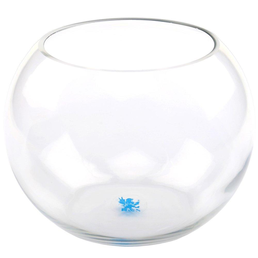 Glass fish bowl vases price italy empoli art glass fish for Glass fish bowl