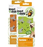 Insect Shield Repellent Gear Bandanas Bundle, SET of 2, Green and Orange